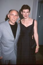 Armin Shimerman and his wife, Kitty Swink - copyright Eon