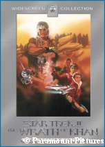 'Star Trek II The Wrath of Khan Director's Edition' cover art, courtesy Amazon.com, copyright Paramount Pictures